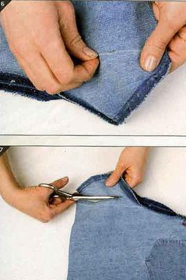 Как сшить джинсы пошагово с